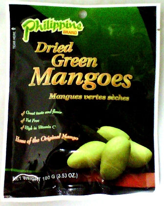 Philippine Dried Green Pickled Mango