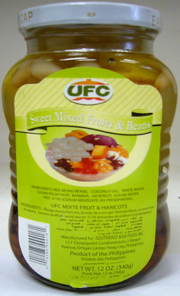 UFC Sweet Mixed Fruits and Beans
