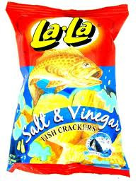 Lala Fish Crackers with salt & vinegar