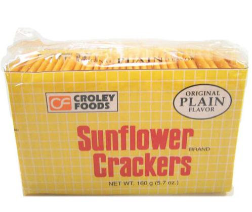 London Sunflower Crackers in pack