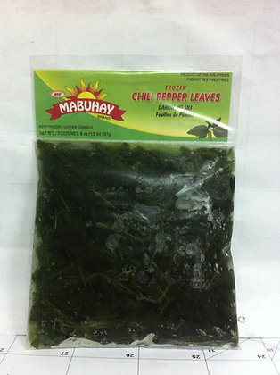 Mabuhay Frozen Chili Pepper Leaves