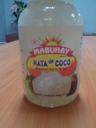 Mabuhay Coconut Gel (Nata De Coco), White