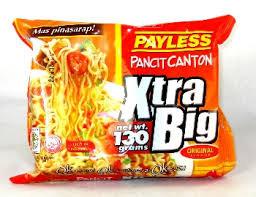 Payless Pancit Canton Xtra Big