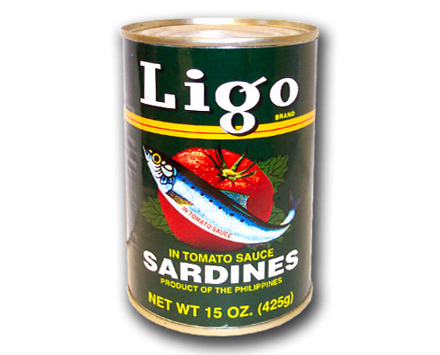 Ligo Sardines in Tomato Sauce, Reg