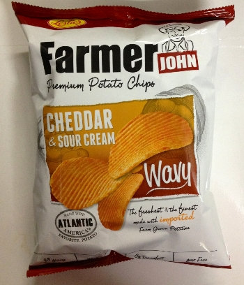 Leslie FJ Potato Chips Wavy Cheese & Sour Cream