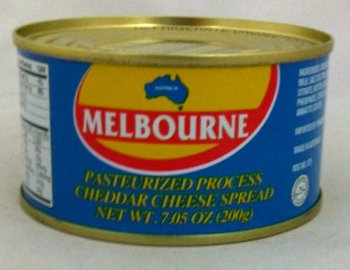 Melbourne Pasteurized Cheese in can