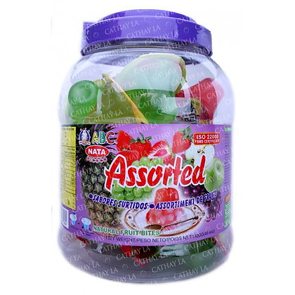 ABC Assorted Coconut Jelly in Jar