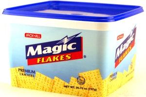 Magic Premium Crackers in tub
