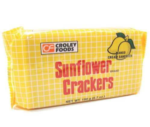London Sunflower Crackers in pack, Mango