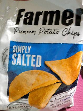 Leslie FJ Potato Chips Salted