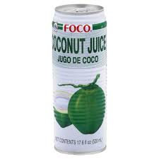 FOCO Coconut Juice with Pulp