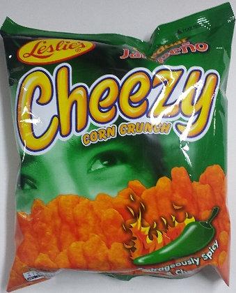 Leslie Cheezy Jalapeno Flavor