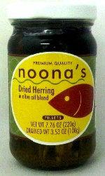Noonas Dried herring in Olive Oil