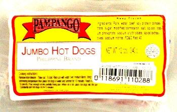 Pampango Hotdogs - Jumbo