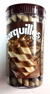 Barquillos Royal Chocolate Rolls