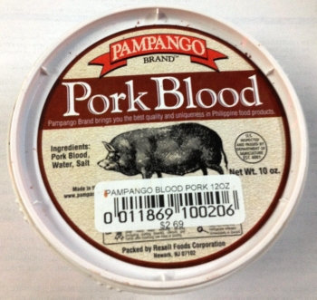 Pampango Pork Blood