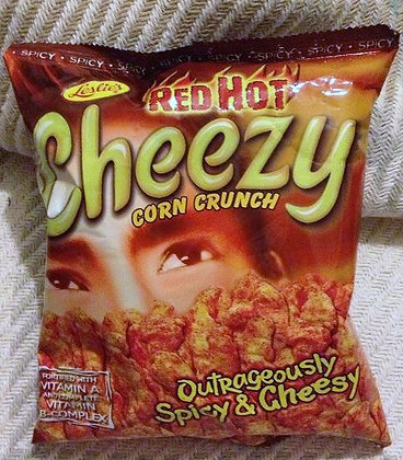 Leslie Cheezy Red Hot Corn Crunch