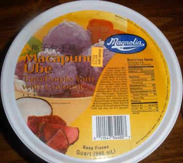Magnolia Ice Cream, Macapuno Ube
