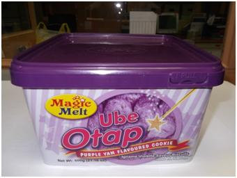 Magic Melt Otap, Ube in tub