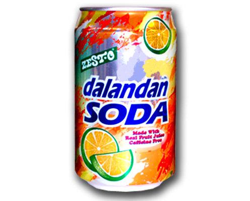 Zest-O Dalandan Fruit Soda