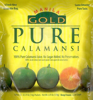 Manila Gold Calamnasi Packets