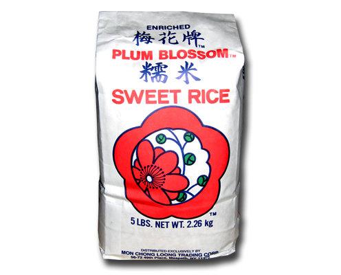 Plum Blossoms Sweet Rice