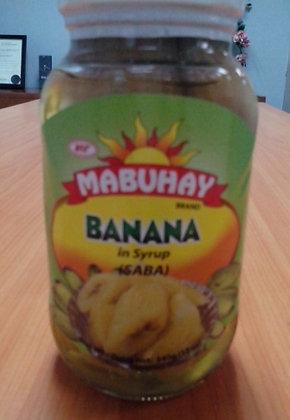Mabuhay Banana in Syrup