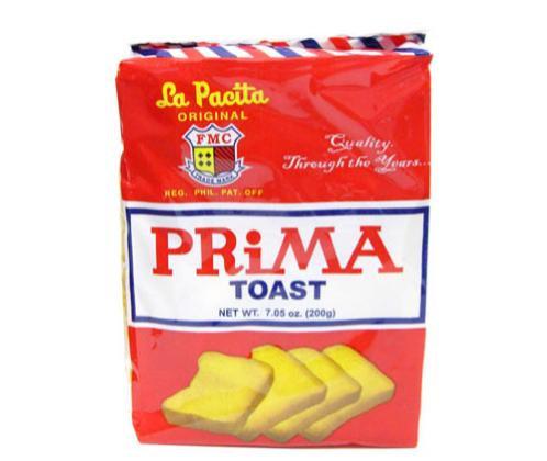 La Pacita Prima Toast