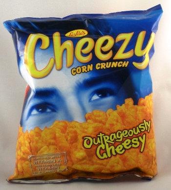 Leslie Cheezy Corn Crunch, Oririnal