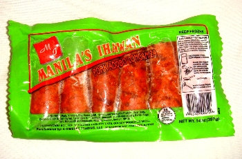 Manila Ihawan Frozen Pork Adobo Longaniza