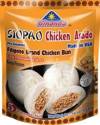 Binondo Chicken Siopao Asado Precooked