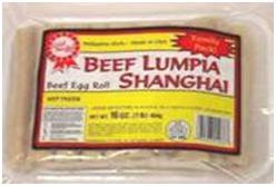 Gold Medal Beef Lumpia Shanghai (Family Pack)