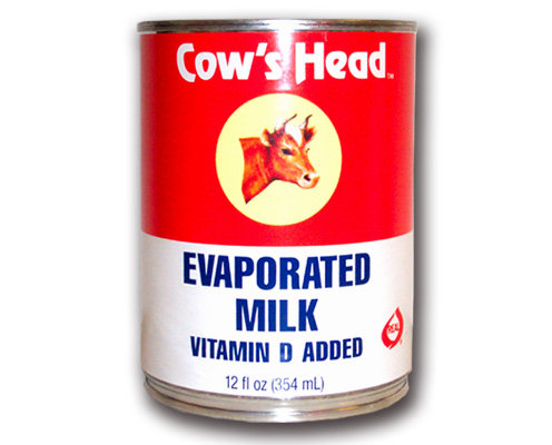 Cow's head Evaporated Milk