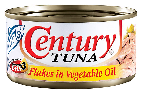 Century Tuna, Flakes in Vegetable Oil
