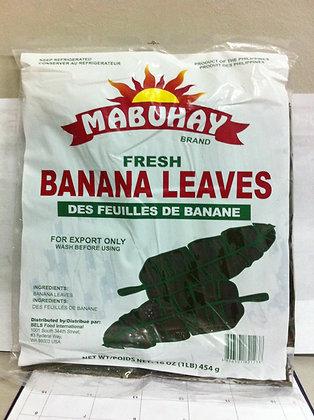 Mabuhay Frozen Banana Leaves Regular