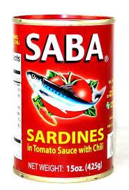 Saba Sardines in Tomato Sauce, Hot