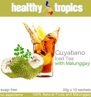 Healthy Tropics Cold Iced Tea Powder Drink