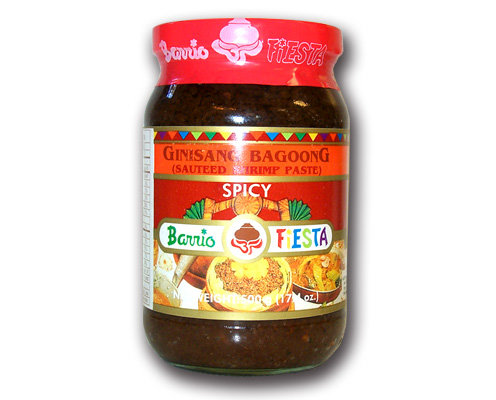 Barrio Fiesta Sauteed Shrimp Paste, Spicy
