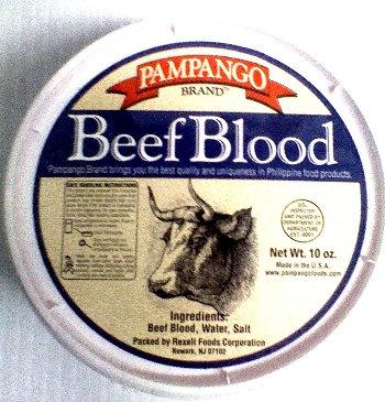 Pampango Beef Blood