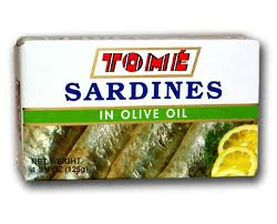 Tome Canned Sardines in Olive Oil
