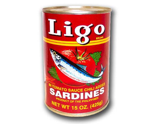 Ligo Sardines in Tomato Sauce, Hot