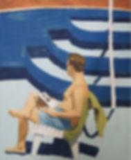 eliza gosse empty pool painting