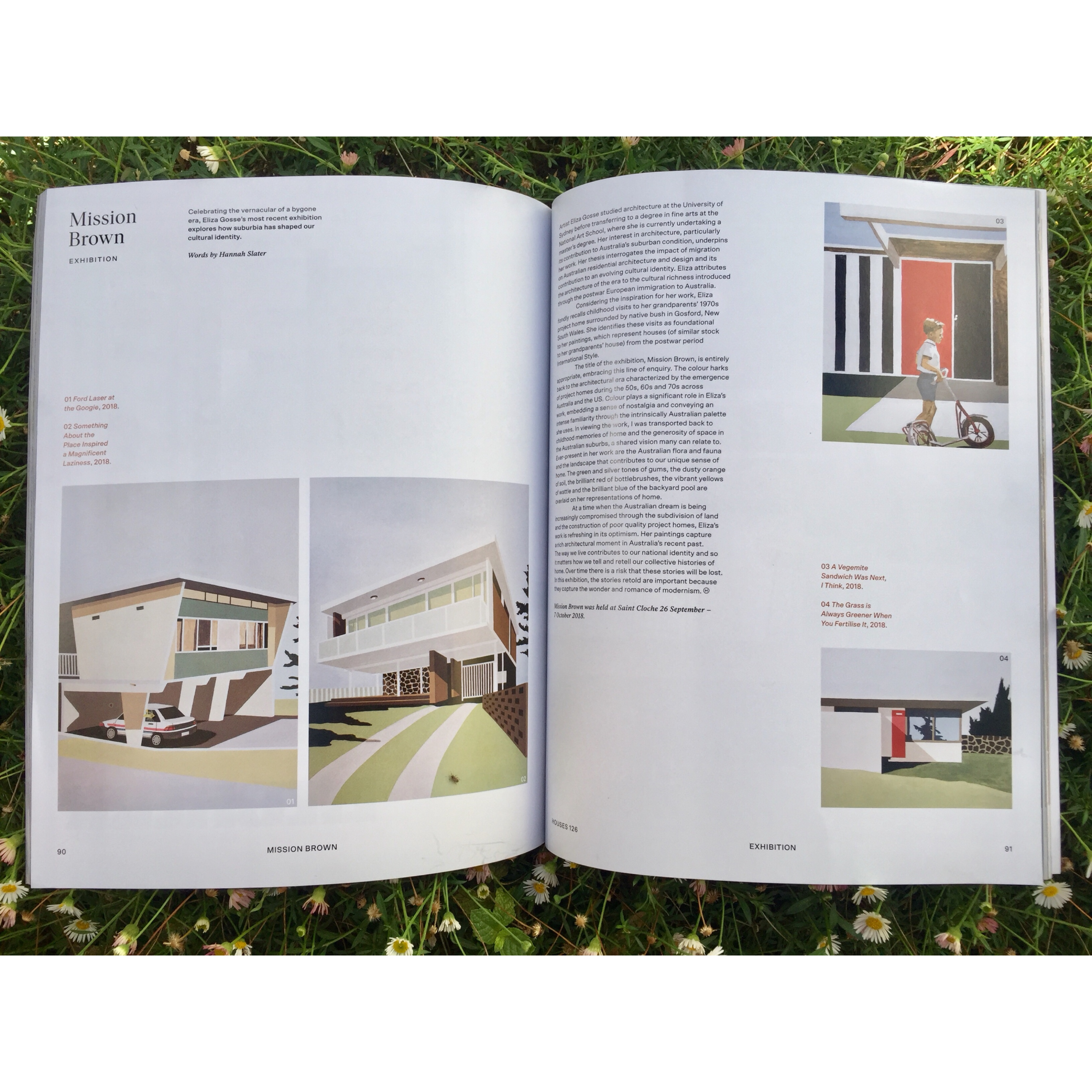 Featured in Houses Magazine