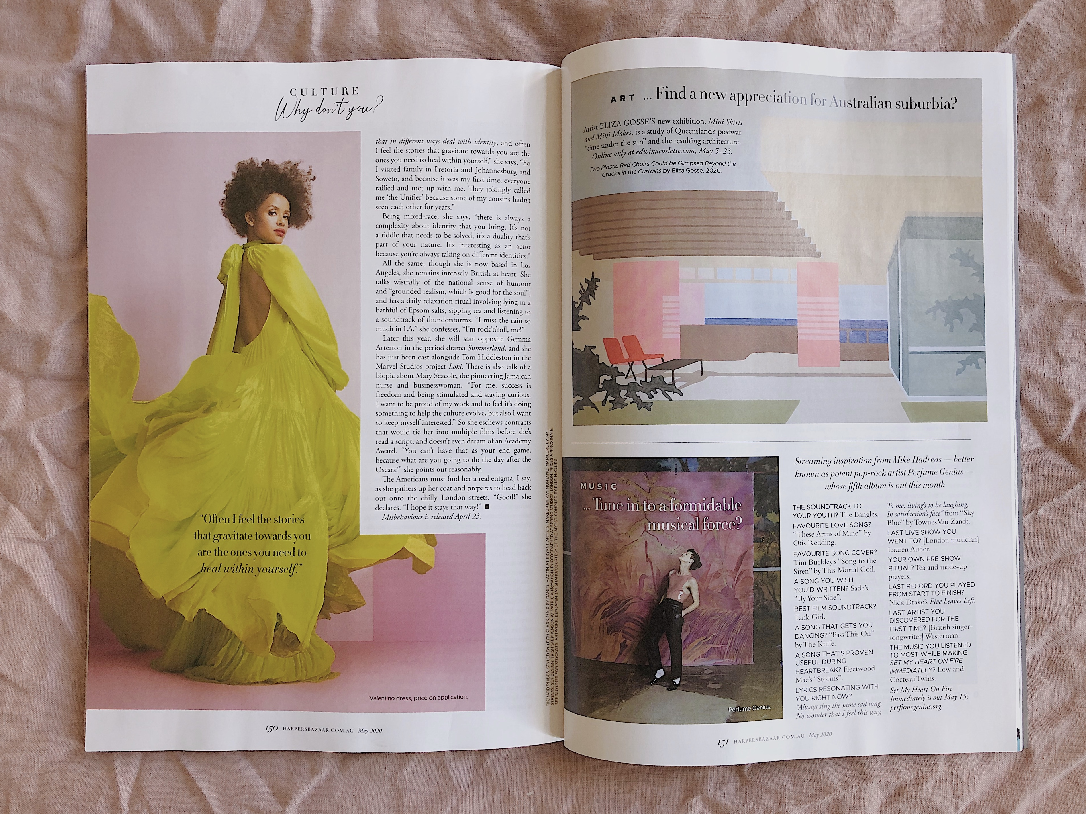 Featured in Harpers Baazar