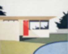 Eliza Gosse_Case Study House 11_ oil on