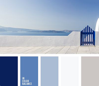 Beautiful Blue & White