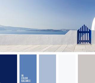 Beautiful Blue & White