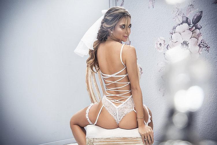 Lencería para novias y noche de bodas. Fanaticasensual.com
