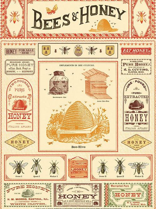 Bees & Honey Wrapper