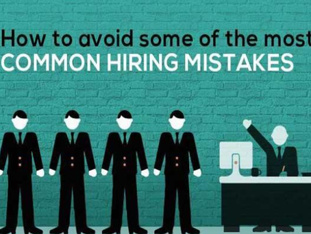 LOOK BEFORE YOU LEAP: HIRING MISTAKES EVERY RECRUITER SHOULD AVOID.